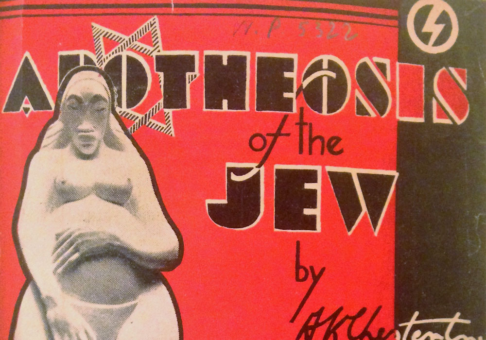 Antisemitic BUF pamphlet by A.K. Chesterton, who would go on to found the National Front